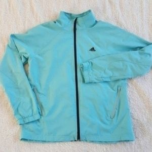 Adidas Three Stripe Running Jacket Windbreaker